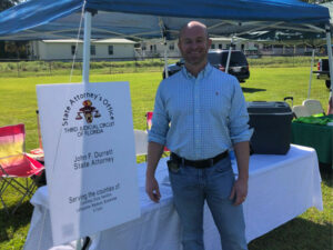Mr. Durrett attends local events